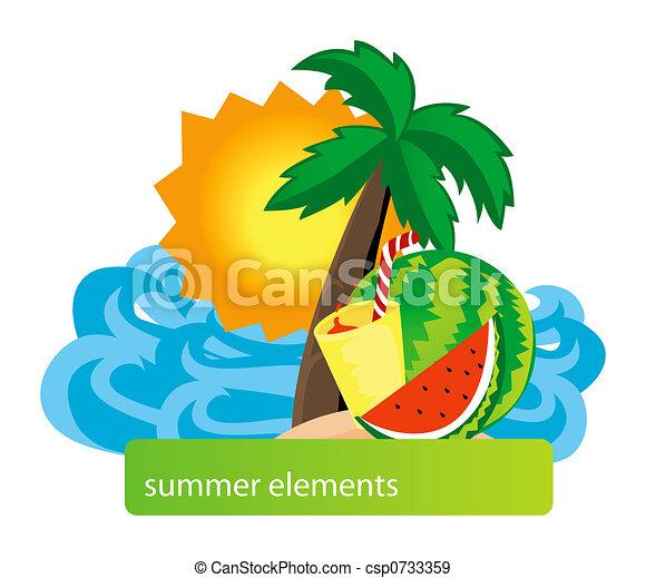Summer Design - csp0733359