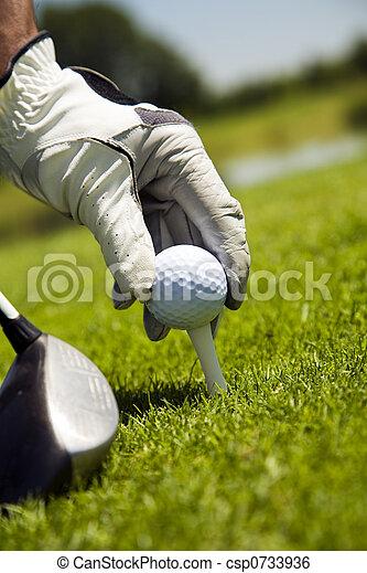 Golf club - csp0733936