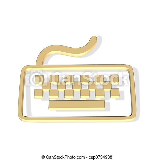 keyboard icon - csp0734938