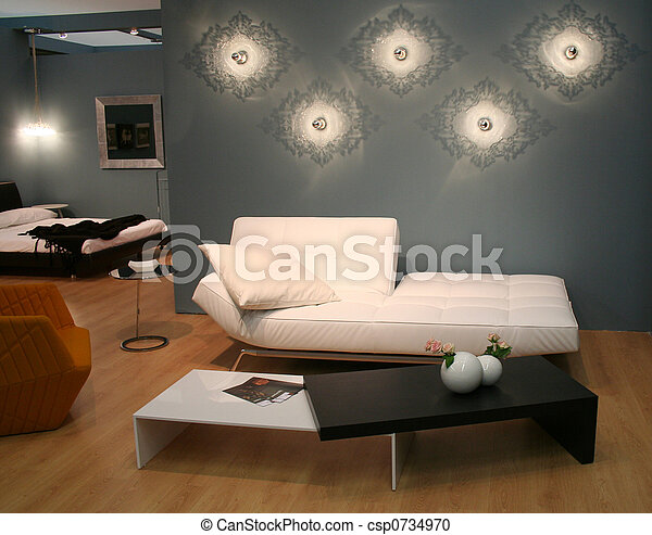 stock fotografie von lebensunterhalt dekorieren zimmer. Black Bedroom Furniture Sets. Home Design Ideas