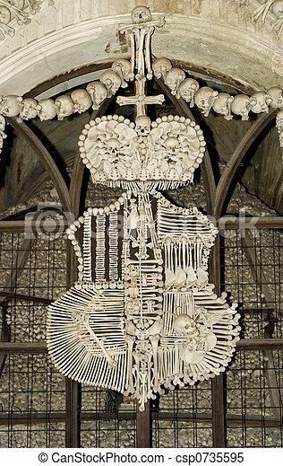 cseh, csont, templom - csp0735595