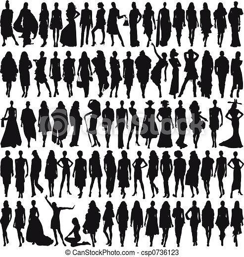 Female models - csp0736123