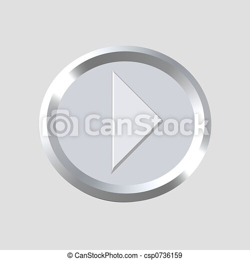 music player icon - csp0736159