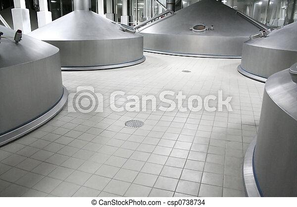 modern brewery - csp0738734