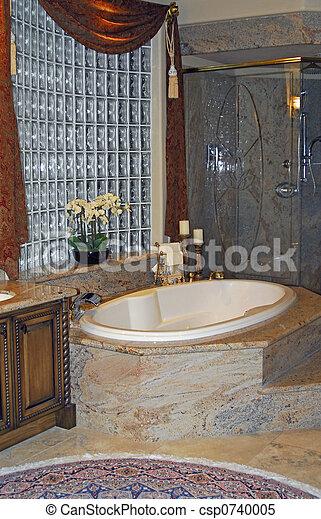 stock foto luxuri s badezimmer stock bilder bilder lizenzfreies foto stock fotos stock. Black Bedroom Furniture Sets. Home Design Ideas