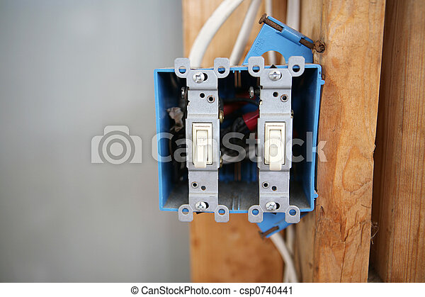 Two Gang Switch Box - csp0740441