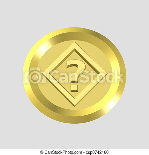 gold query icon - csp0742160