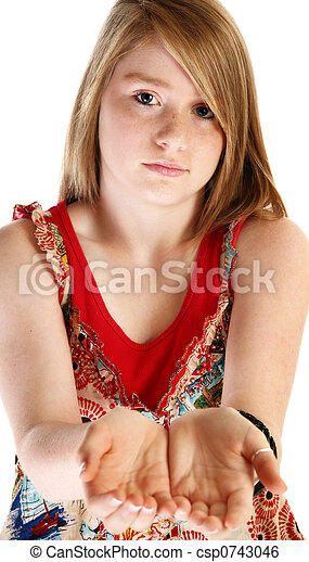 Beautiful Fourteen Year Old Girl Stock Image Instant