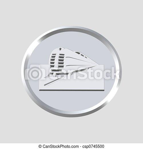 train icon - csp0745500
