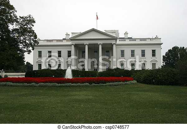 White House, Washington DC - csp0748577