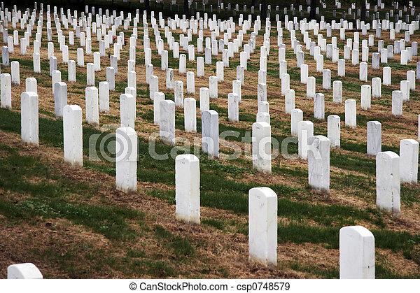 Arlington National Cemetery - csp0748579