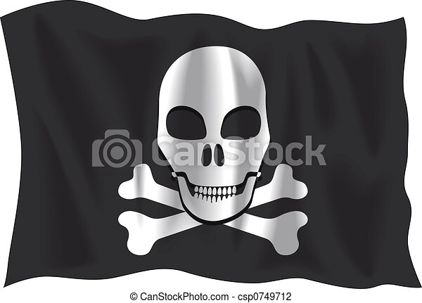 Pirate flag - csp0749712
