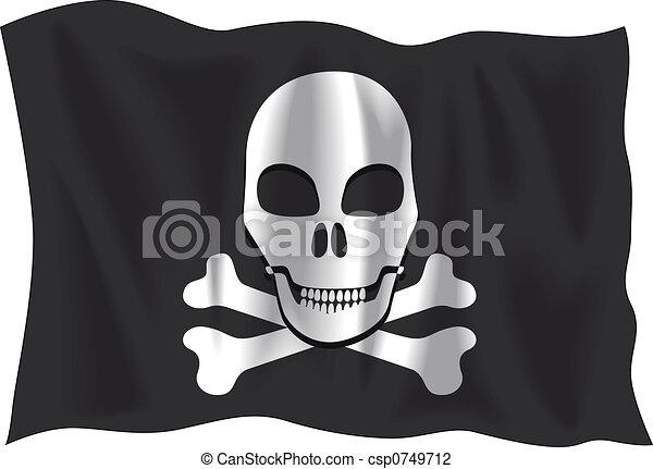 Pirate flag - csp0749712