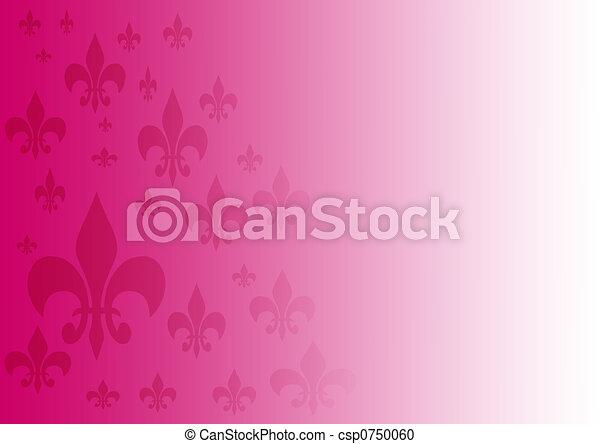 Background Fleur-de-lis - csp0750060