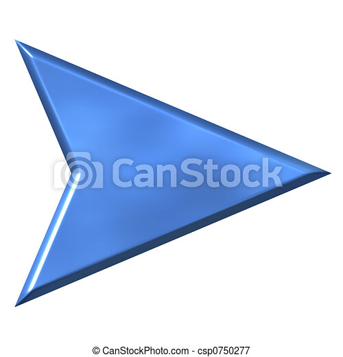 3D Arrow - csp0750277