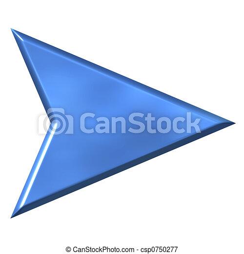 3D Arrow - csp0750277
