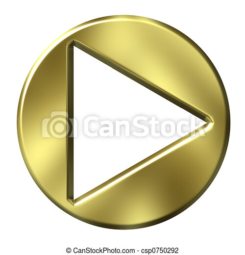 Golden Arrow Clip Art 3d Golden Arrow Button Clip