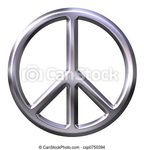 Peace Symbol - csp0750394