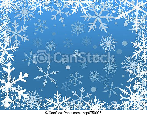 Snow Border - csp0750935