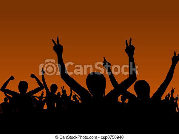 Rock Concert - csp0750940