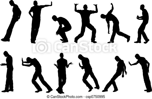 12 physical work poses - csp0750995