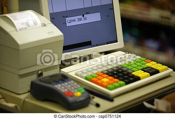 Cash register - csp0751124