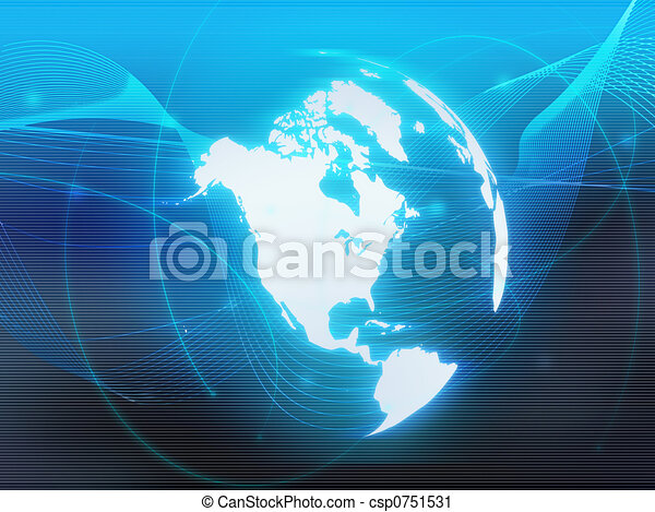 America map - csp0751531