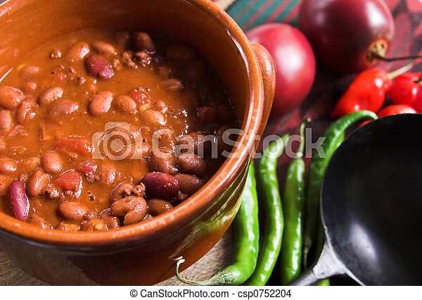 chili with beans - csp0752204