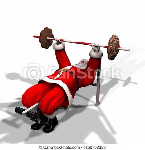Santa Fitness 4 - csp0752333