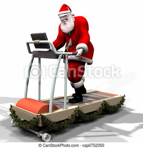 Santa Fitness - csp0752350