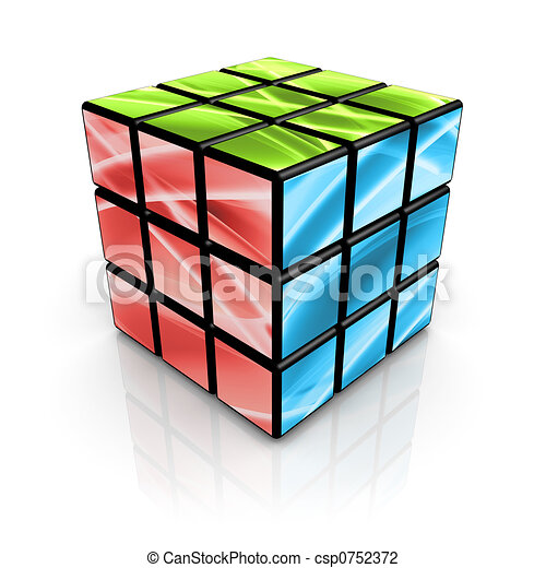 Abstract Cube - csp0752372