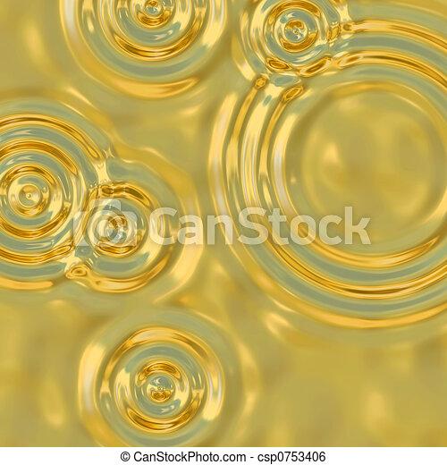 gold ripples - csp0753406