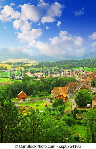 Rural landscape - csp0754105