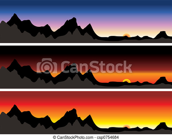 mountain range - csp0754684