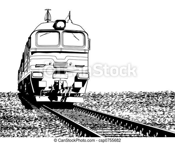 Locomotive - csp0755682