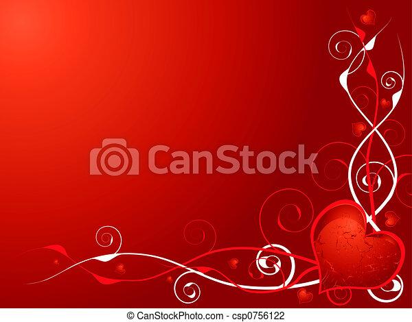 love heart invite - csp0756122