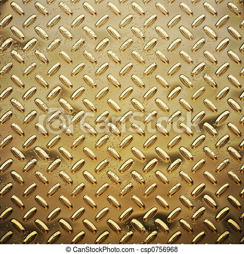 rough gold diamond plate - csp0756968