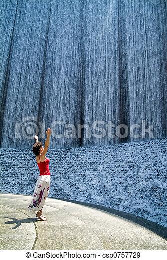 The Waterfall 1 - csp0757729
