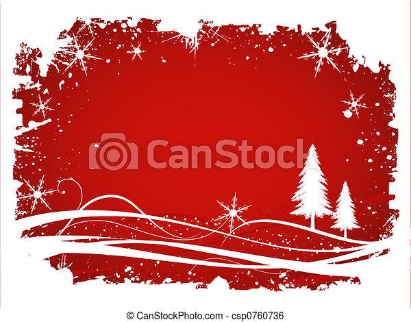 Winter background - csp0760736