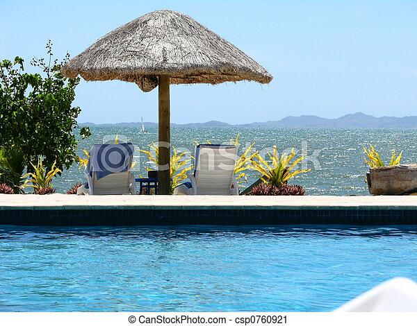 Fijian Seascape - csp0760921