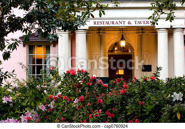 Historical tavern in Sava - csp0760924