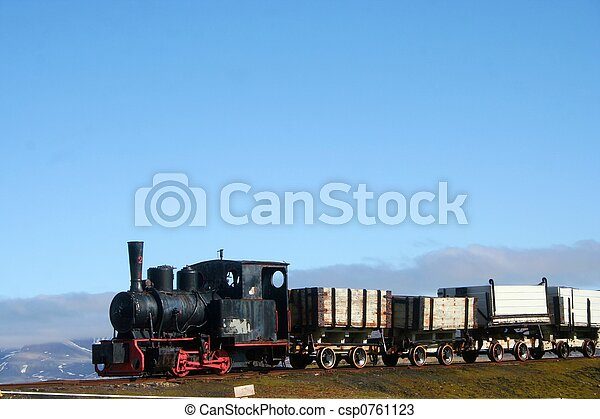 Old Train - csp0761123