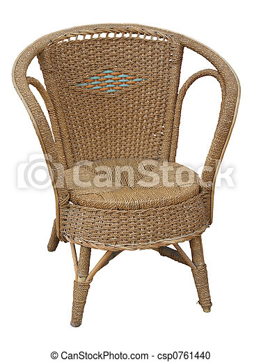 Antique Cane Chair - csp0761440