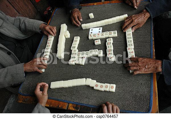 chino, juego - csp0764457