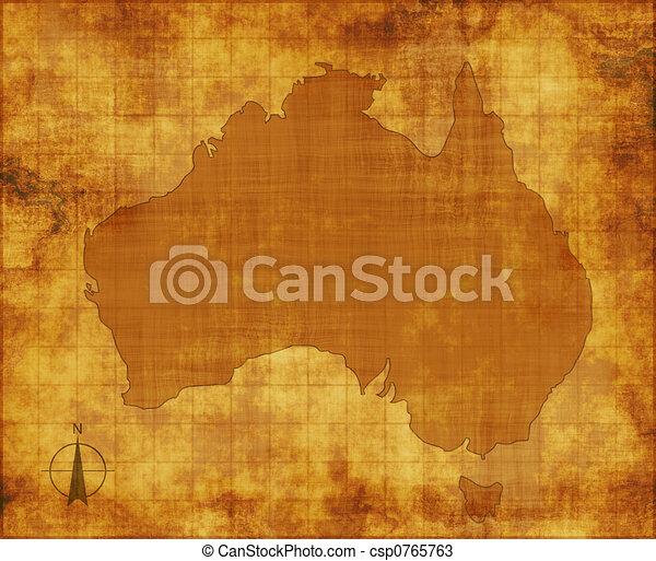australia map - csp0765763