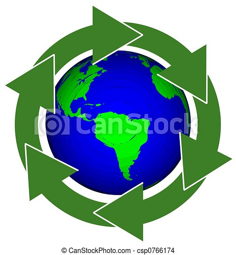 Earth Recycle - csp0766174