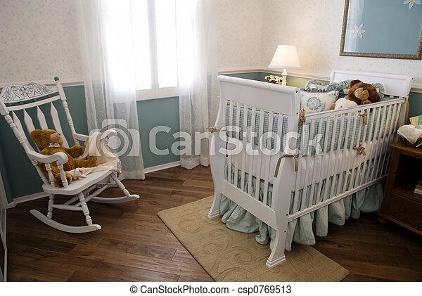 Nursery and Crib - csp0769513
