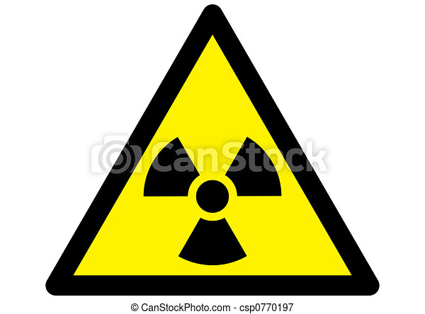 Nuclear Radiation warning - csp0770197