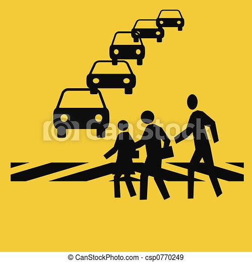 crosswalk safety - csp0770249
