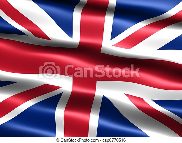 Flag: United Kingdom - csp0770516